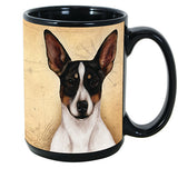 Faithful Friends Rat Terrier Tri Color Dog Breed Coffee Mug