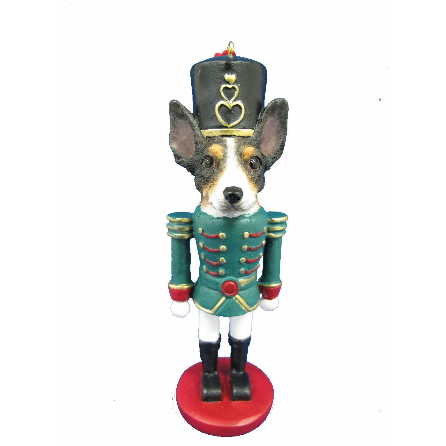 Rat Terrier Dog Toy Soldier Nutcracker Christmas Ornament | Doggy ...