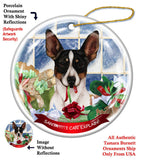 Rat Terrier Howliday Dog Christmas Ornament