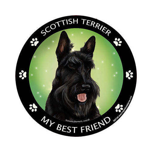 Scottish Terrier My Best Friend Dog Breed Magnet