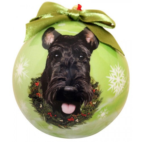 Scottish Terrier Scottie Shatterproof Dog Breed Christmas Ornament