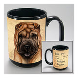 Faithful Friends Shar Pei Dog Breed Coffee Mug