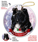 Sheltie Howliday Dog Christmas Ornament
