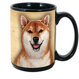 Faithful Friends Shiba Inu Dog Breed Coffee Mug