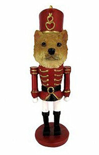 Shiba Inu Dog Toy Soldier Nutcracker Christmas Ornament
