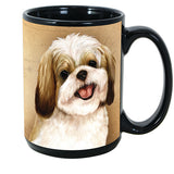 Faithful Friends Shih Tzu Dog Breed Coffee Mug