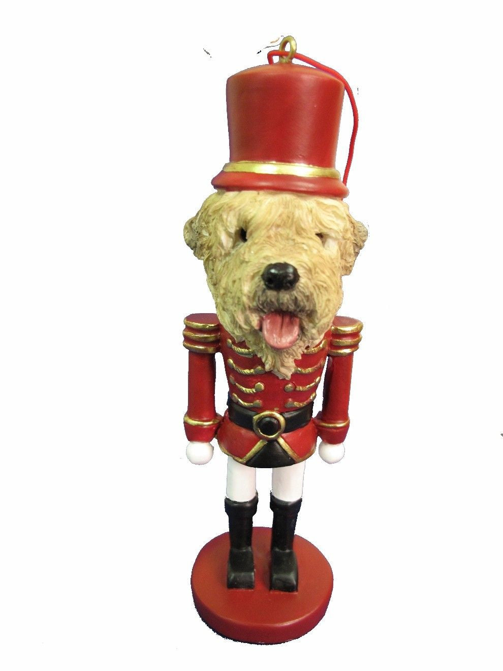 Soft Coated Wheaten Terrier Dog Toy Soldier Nutcracker Christmas ...