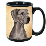 Faithful Friends Weimaraner Dog Breed Coffee Mug