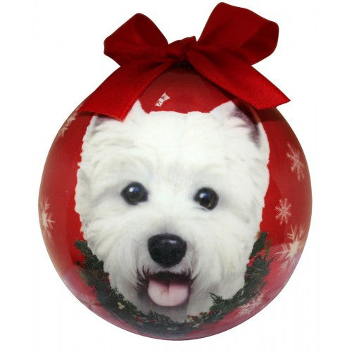 West Highland Terrier Westie Shatterproof Dog Breed Christmas Ornament