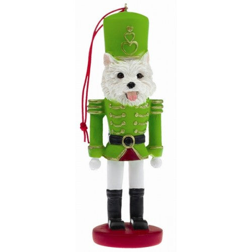 West Highland Terrier Dog Toy Soldier Ornament