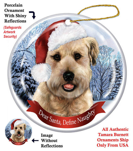 Soft Coated Wheaten Terrier Howliday Dog Christmas Ornament
