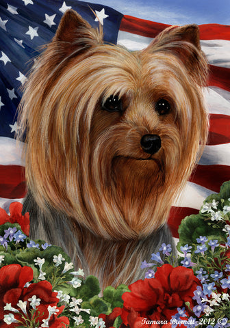 Yorkie Assorted Best In Breed Flag