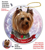 Yorkshire Terrier Yorkie Howliday Dog Christmas Ornament