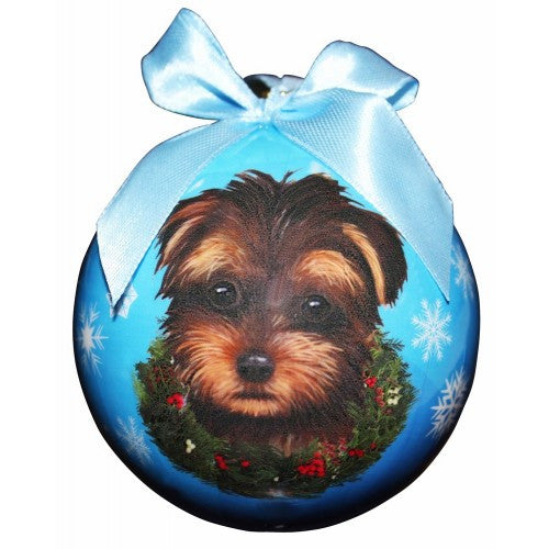 Yorkipoo Shatterproof Dog Breed Christmas Ornament