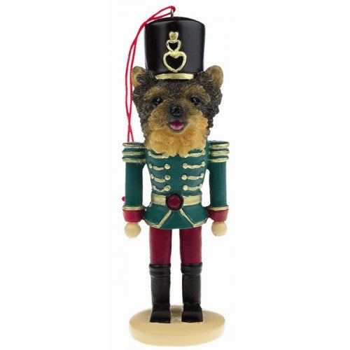 Yorkshire Terrier Yorkie Puppy Dog Toy Soldier Nutcracker Christmas Ornament