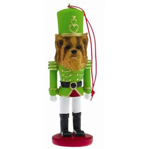 Yorkshire Terrier Yorkie Dog Toy Soldier Nutcracker Christmas Ornament