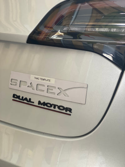 SpaceX Badge
