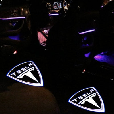 Puddle Lights (with Logo) - Model 3/Y (Pair)
