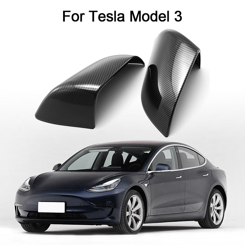 Review Mirror Cover - Model 3