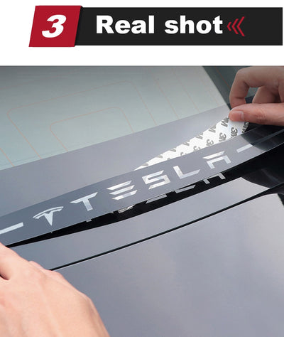 Rear Brake Light Sticker - Model 3