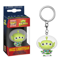 Alien Remix - Buzz Lightyear Pop Keychain