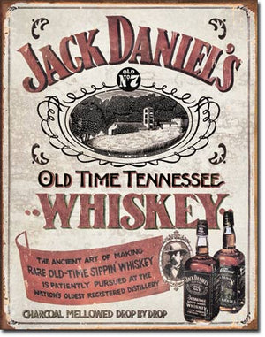 Jack Daniel's Sippin' Whiskey Tin Sign