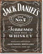 Jack Daniel's Weathered Logo Tin Sign