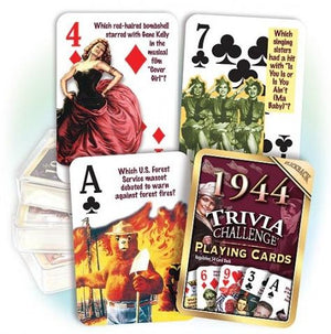 Trivia Playing Cards
