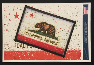 CA Splatter Flag Patch