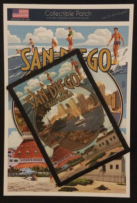San Diego Montage Patch