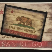 California State Flag Patch
