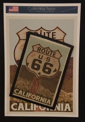 CA - Route 66 Patch