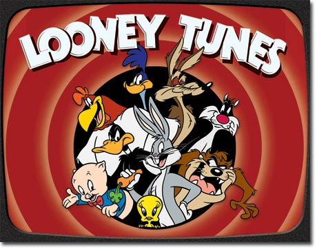 Looney Tunes Tin Sign