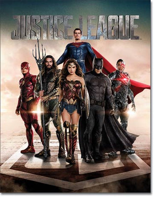 Justice League Movie Tin Sign