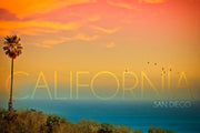 California Sunset Magnet