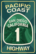 Pacific Coast Highway Magnet
