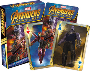Avengers Infinity War Playing Cards