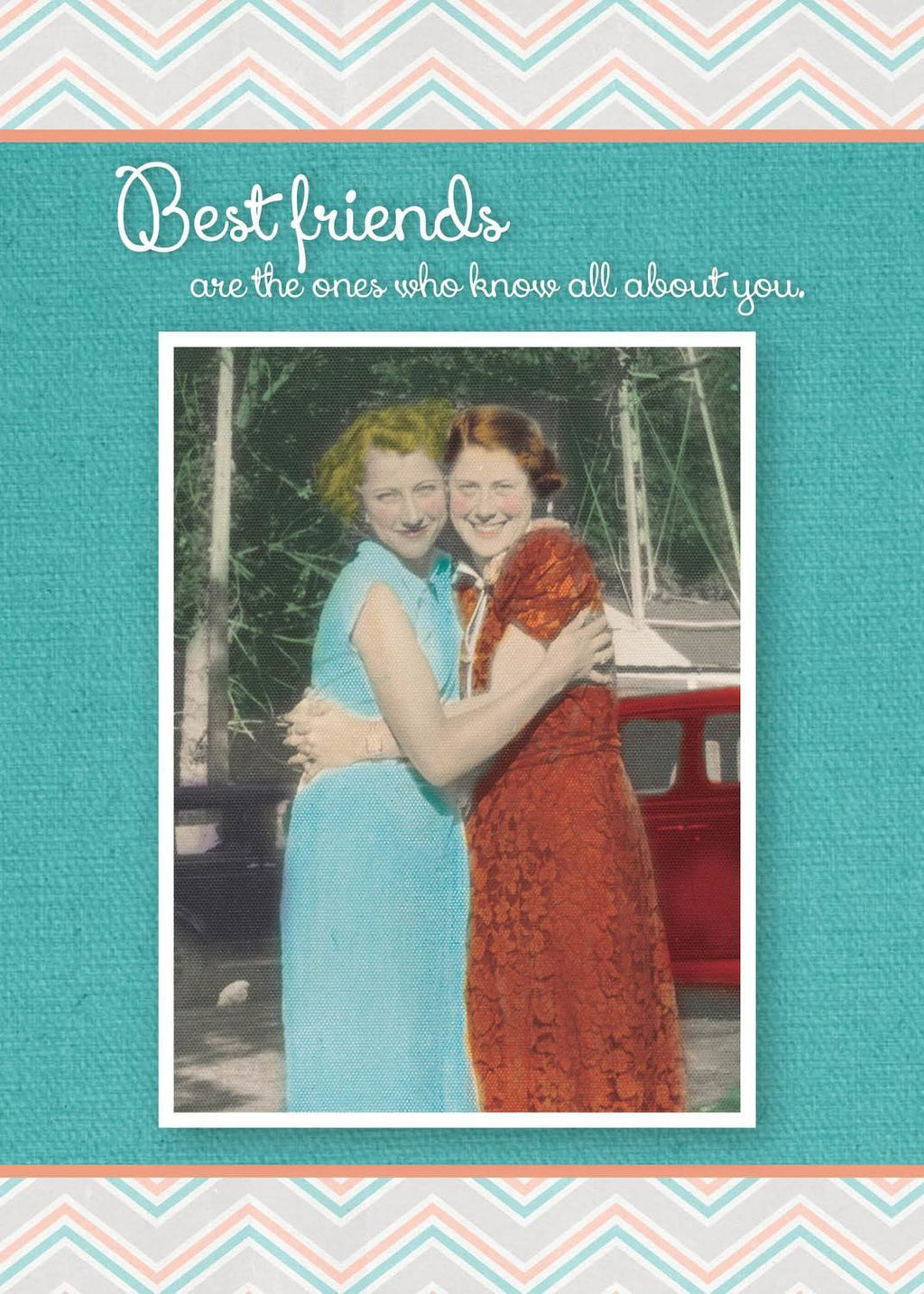 Bestfriends Know All About You - Birthday Card