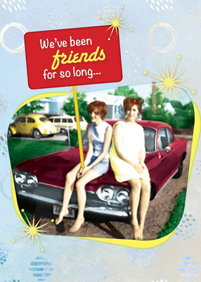 We've Been Friends - Birthday Card