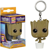 Dancing Groot Pop Keychain