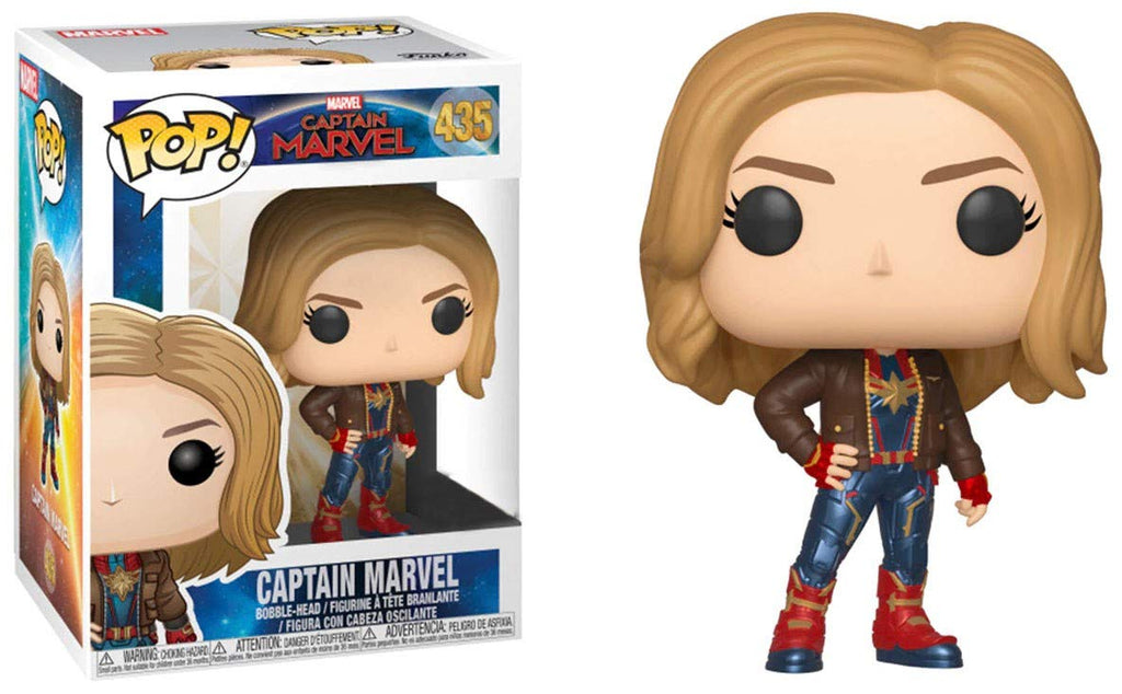 Captain Marvel Pop Figure