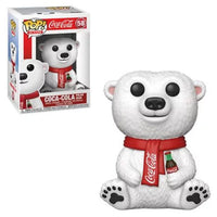 Coca-Cola Polar Bear Pop Figure