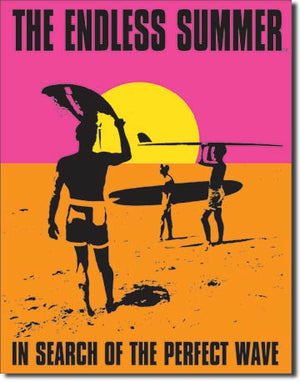 Endless Summer - Poster Tin Sign