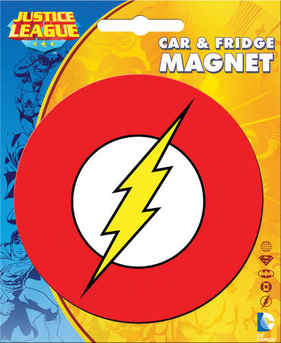 Flash Logo Car Magnet