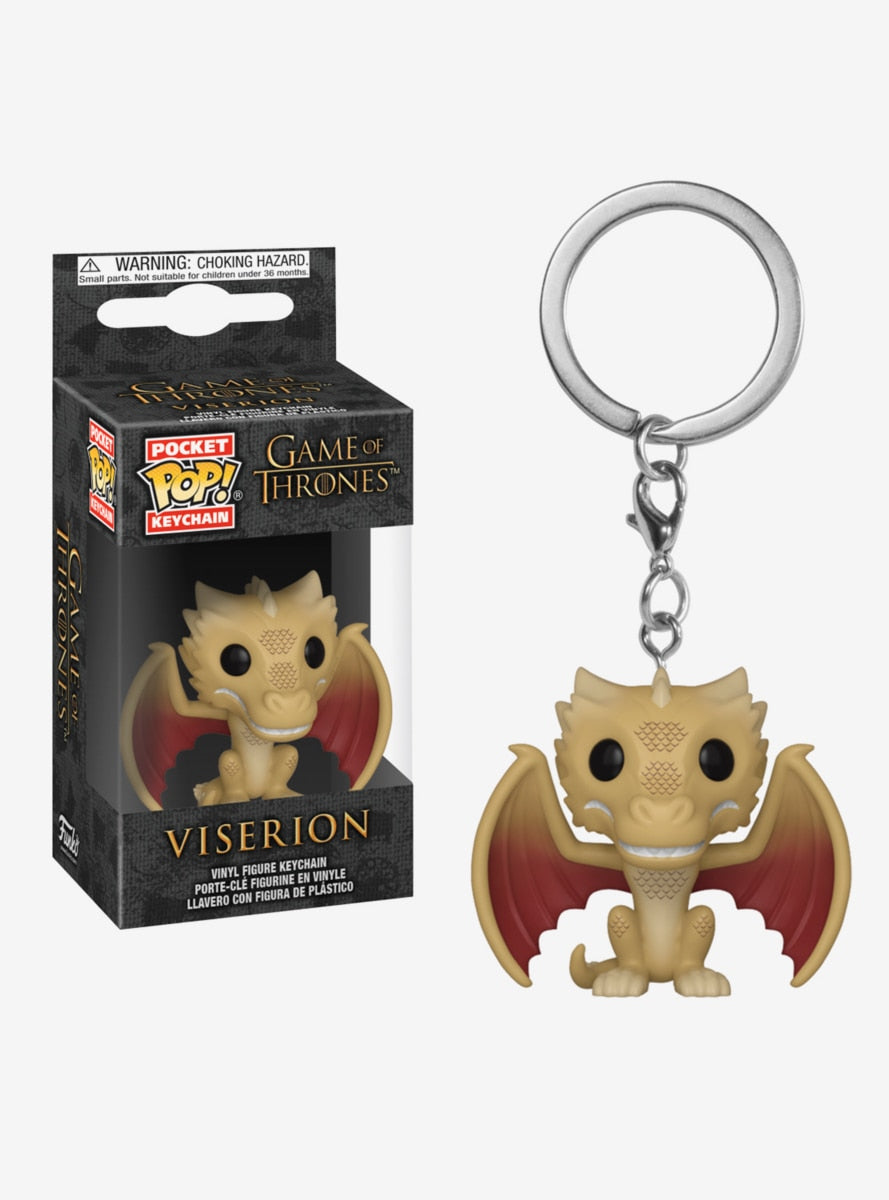 Game of Thrones Viserion Pop Keychain