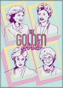Golden Girls Cast Magnet