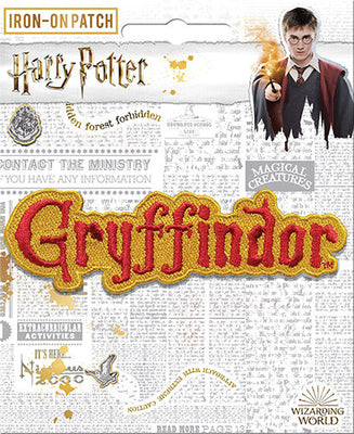 Gryffindor Name Patch