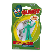 Gumby Bendable Keychain