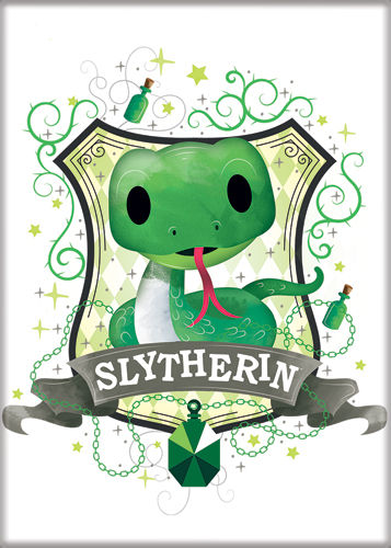 HP Charms 2 Slytherin Magnet