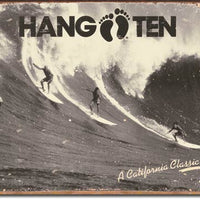 Hang Ten - California Classic Tin Sign